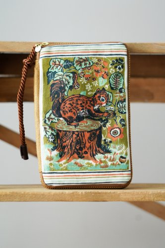 Nathalie Lete × mYmI Schedule book case (Squirrel)