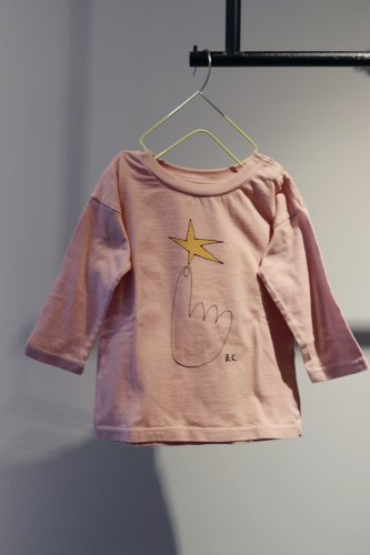 【sale】BOBO CHOSES Cut and sew (Pink)-kids-12-18Month