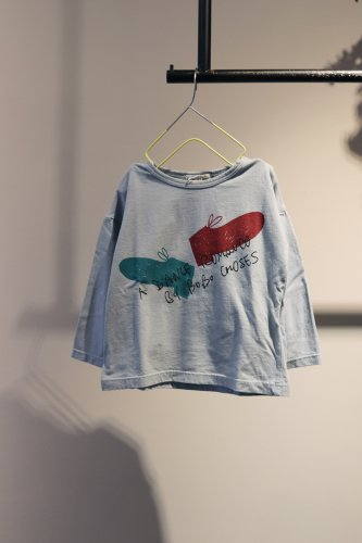【sale】BOBO CHOSES Cut and sew (Blue)-kids-12-18Month