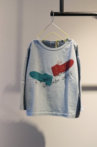 【sale】BOBO CHOSES Cut and sew (Blue)-kids-18-24Month