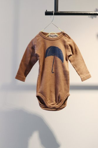 【sale】BOBO CHOSES Rompers(Brown)-kids-3-6Month
