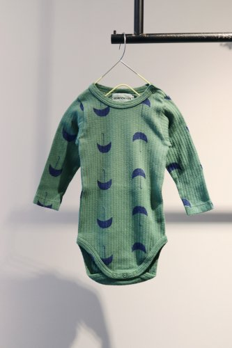 【sale】BOBO CHOSES Rompers(Green)-kids-3-6Month