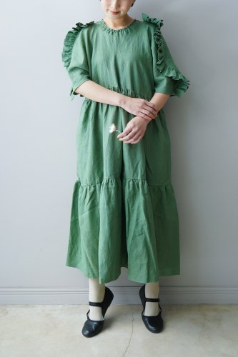 HOUGA Lily dress (Green)