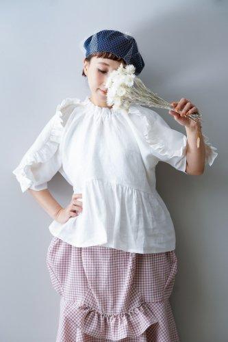 HOUGA lily blouse (White)