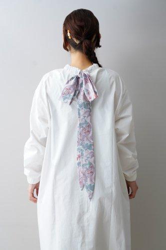 bedsidedrama Ribon Tie blouse (White)