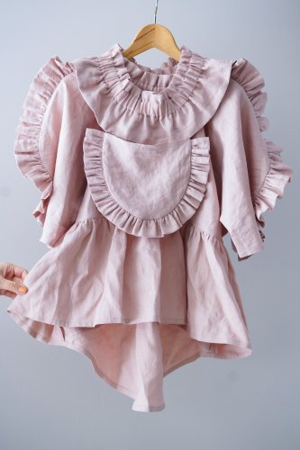 HOUGA lily blouse (Pink)