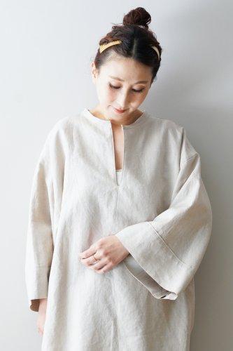 WONDER FULL LIFE Linen Pullover(White)