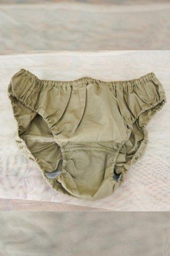 TESIKI -手式 INNER PANTS (OLIVE-GREEN)M-size