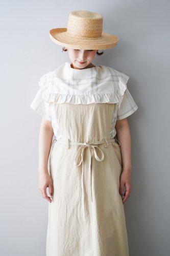 gasa* grue  Apron dress  (Beige)