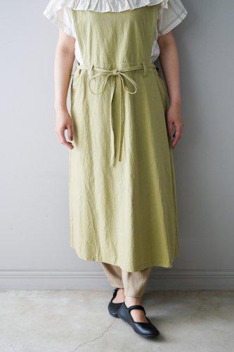 gasa* grue  Apron dress  (Olive)
