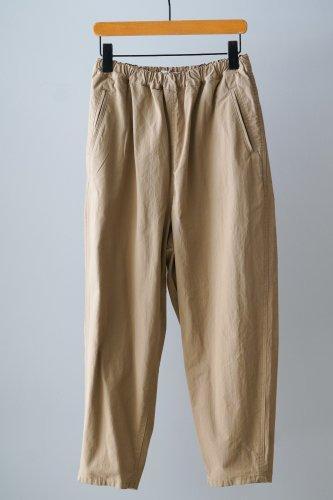 UNIVERSAL TISSU  Tapered cotton Pants (Beige)