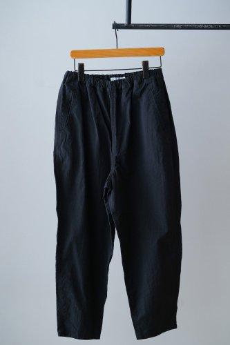 UNIVERSAL TISSU  Tapered cotton Pants (Black)