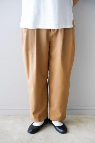 UNIVERSAL TISSU  Tapered Pants (Mocha)
