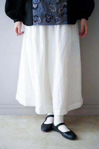 【sale】muuc Wide pants  (White)-20%OFF
