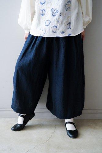 【sale】muuc Wide pants  (Navy)-20%OFF