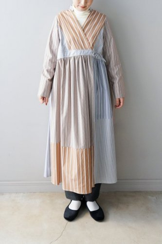 【sale】nesessaire Wrap One piece (Stripe)-30%OFF