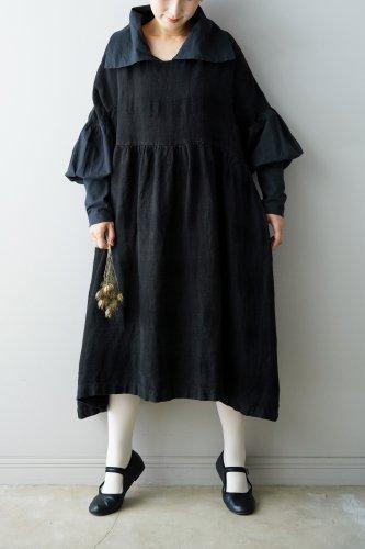D-due collar One piece(Black)