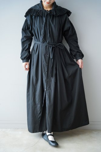 STASTNY SU Ruffle color One-piece(Black)