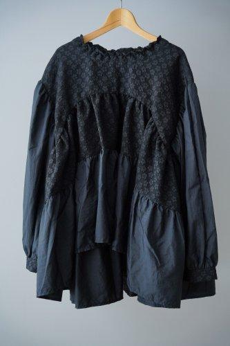 HOUGA poppy blouse(Black)