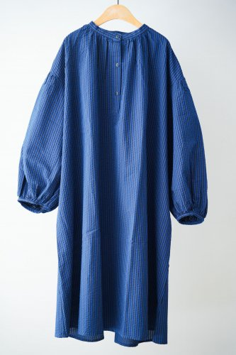 michirico Striped dress(Blue)