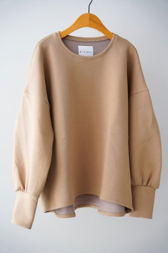si-si-si comfort Volume sleeve pullover (beige)