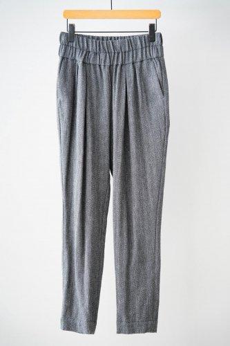 si-hirai Tweed pants (Gray)