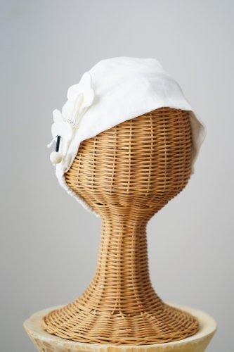 mudoca Bead motif Hair band (Off-white)