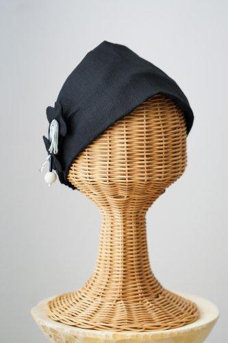 mudoca Bead motif Hair band (Black)