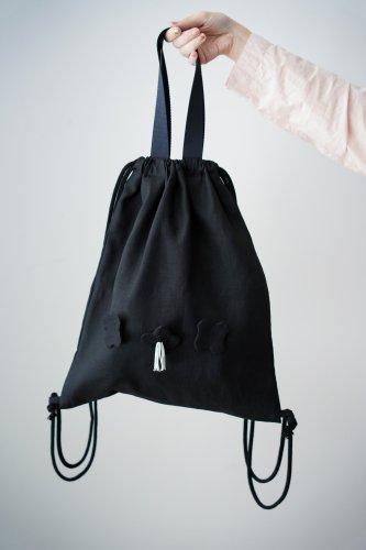 mudoca Knapsack bag(Black)