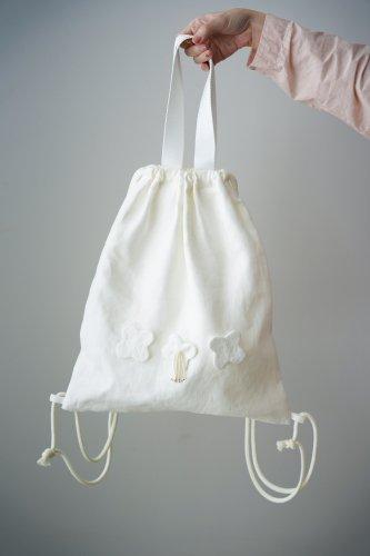 mudoca Knapsack bag(Off-white)