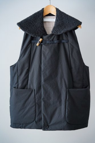 ASEEDONCLOUD Boa vest(Black)