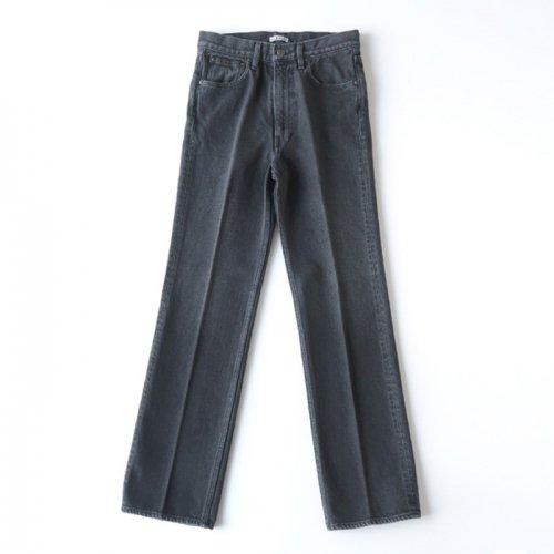 WASHED HARD TWIST DENIM 5P PANTS