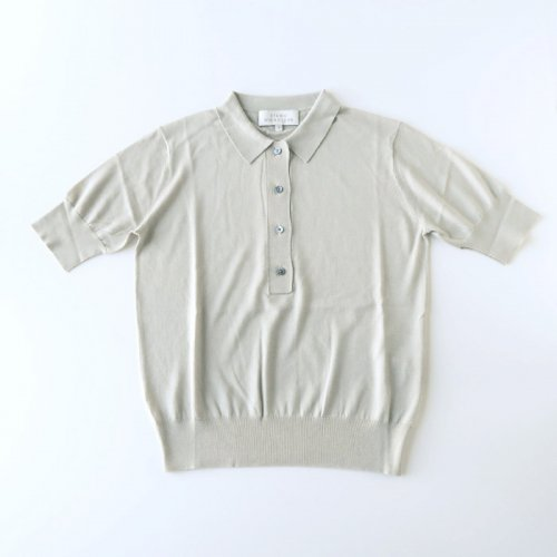 TENCEL SILK COTTON KNITTED POLO
