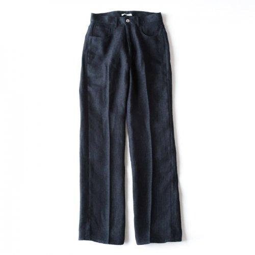 LINEN DOUBLE FACE 5P PANTS