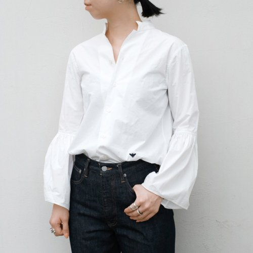BELL SLEEVE SHIRT WASHED OUT