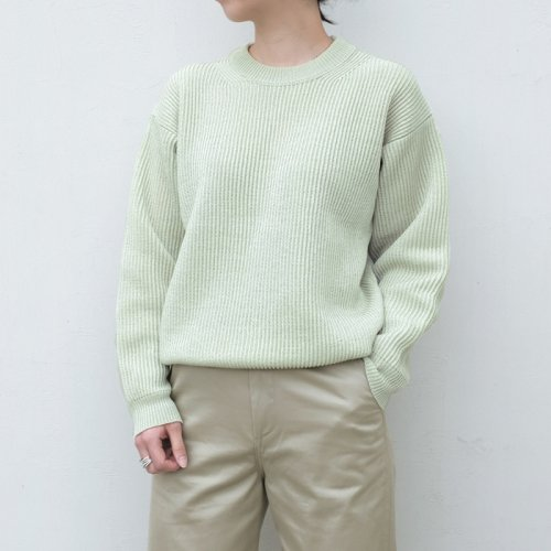 HEMP RIB KNIT BIG P/O