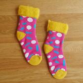 Toivo MOKOMOKO SUKKA Dots -shoking pink-