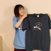 波乗りハリーさんハミーさんTシャツ
