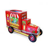 50%OFF!UglyDoll ブリキのペン立て WAGE & BABO'S BREAKFAST TRUCK(RED)