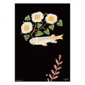 MAKOTO KAGOSHIMA 図案ポスター(D)