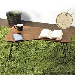 コンパクト 折り畳みテーブル テーブル 幅80cm