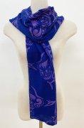 スカーフ(ブルー)