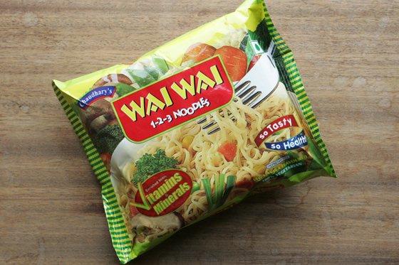 ネパールの即席ラーメン ワイワイヌードル(野菜味)