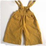 子供服型紙 KP-164 ワイドパンツのサロペット