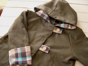 子供服型紙 KP-62 リバーシブルコート