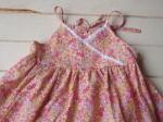 子供服型紙 KP-22 カシュクール風キャミ&ドレス