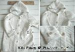 子供服型紙  KP-95  ロングカーディガン(コート)