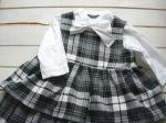 子供服型紙  KP-97 2段スカートのジャンスカ&ワンピ