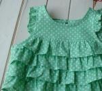 子供服型紙  KP-99 フリフリ★ブラウス