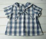 子供服型紙  KP-18 セーラーカラーブラウス(プルオーバー)